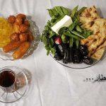 افطاری ساده، صمیمی و بیریا