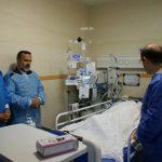 مسئولان استانی و فرماندهان ارتش از مادرشهید  سپهبد علی صیاد شیرازی عیادت کردند