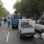 ۵۰ درصد ناوگان حمل بار در مشهد فرسوده است