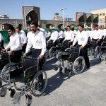 تشرف بیش از ۲۲۰۰ سالمند و معلول به حرم مطهر رضوی