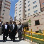 ۲۱۶ واحد مسکونی شهری در مشهد مقدس به بهره برداری رسید