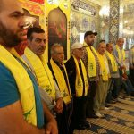 عیادت از مجروحان و جانبازان مقاومت لبنان