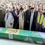 پیکر سه شهید مدافع حرم در مشهد تشییع شد