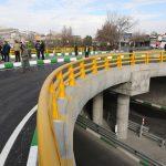 پل روگذر میدان عدالت با حضور شهردار مشهد مقدس افتتاح شد