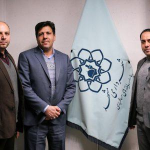 دیدار مدیر مسئول پایگاه خبری صبح مشهد با سرپرست سازمان پایانه های مسافربری مشهد به مناسبت گرامیداشت روز حمل و نقل