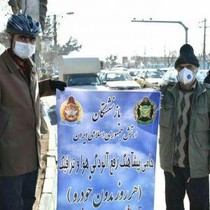 پویش سه شنبه های بدون خودرو با حضور طلاب و پیشکسوتان ارتش