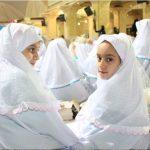 در آستانه ماه مبارک رمضان؛جشن ۱۰۰۰ «روزه اولی» دختر در بارگاه منور امام هشتم(ع) برگزار شد