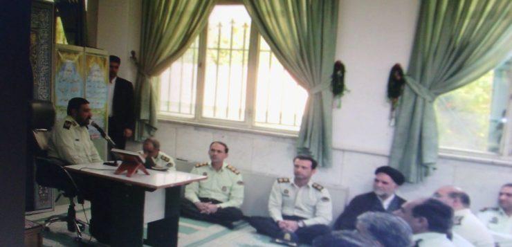 فرمانده انتظامی استان در آیین تکریم رییس پلیس آگاهی مطرح کرد؛ هوشیاری ،رافت اسلامی و حرفه ای گرایی شاخصه های اقتدار و عزت پلیس آگاهی