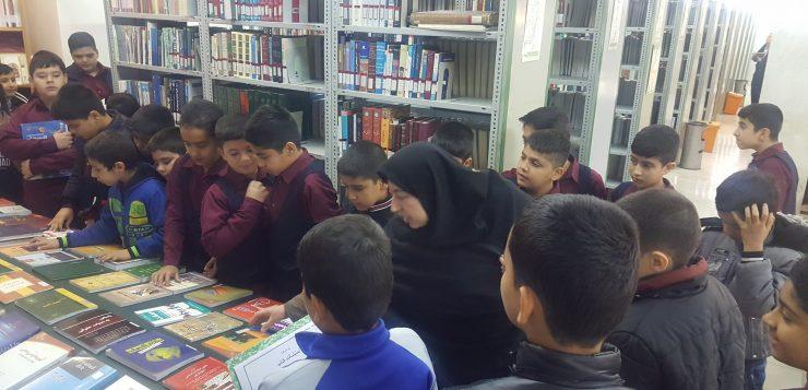بازدید دانش آموزان دبستان های مشهد از کتابخانه های وابسته به آستان قدس رضوی