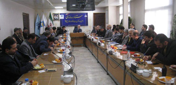 برگزاری نشست اندیشه ورزی ستاد رسانه ای چهلمین سالگرد پیروزی شکوهمند انقلاب اسلامی