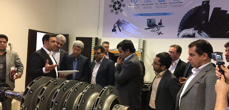 با حضور جمعی از مسئولین استانی و بانکی؛ فاز توسعه شرکت دانش بنیان پرتو صنعت پاژ مورد بهره برداری قرار گرفت