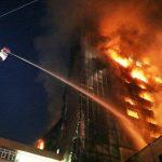 خسارت ۵۰ درصدی به نمای ساختمان برج سلمان