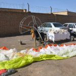 کشف مواد مخدر از طریق پاراگلایدر از مرز افغانستان به ایران