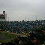 """رونمایی از پیراهن و بازیکنان تیم فوتبال """"مشهد"""" در ورزشگاه ثامنالائمه"""