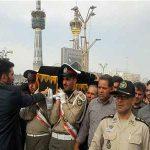 برگزاری مراسم تشییع همسر فرمانده کل ارتش جمهوری اسلامی ایران در مشهد
