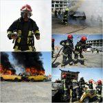 مانور بزرگ ایمنی و آتش نشانی با حضور یکصد و بیست آتش نشان مشهدی/ نمایش توانمندی آتش نشانان