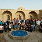 آخرین اردوی خانوادگی امسال اعضای خانه مطبوعات به مقصد طبس برگزار شد