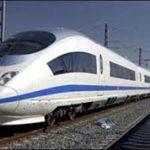 قطار مشهد- گلبهار در ایستگاه تملک اراضی