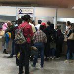 تاخیر پرواز ایرتور مشکلاتی برای فرودگاه هاشمی نژاد به بار آورد/خسارت مسافر عصبانی به شیشه های فرودگاه