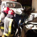 برخورد زنجیرهای خودروها در مشهد، بانوی جوان به همراه سه کودک و نوزاد به شدت مصدوم شدند