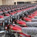 موتور جمعه بازار موتورسیکلت و دوچرخه روشن میشود