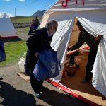 همزمان با دهه فجر:ارسال کاروان کمکهای آستان قدس رضوی به مناطق زلزلهزده غرب کشور