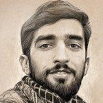 وداع با شکوه و پر مهر مردم شهر مشهد با پیکر شهید حججی