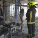 آتش سوزی یک واحد مسکونی در برج دو منظوره در بلوار شارستان مشهد مهار شد