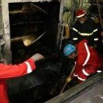 مرگ هولناک کارگر جوان در حادثه آسانسور