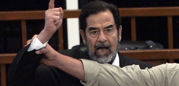 اعدام صدام حسین