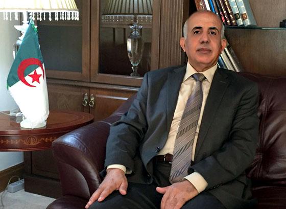 سفیر الجزایر مشهد