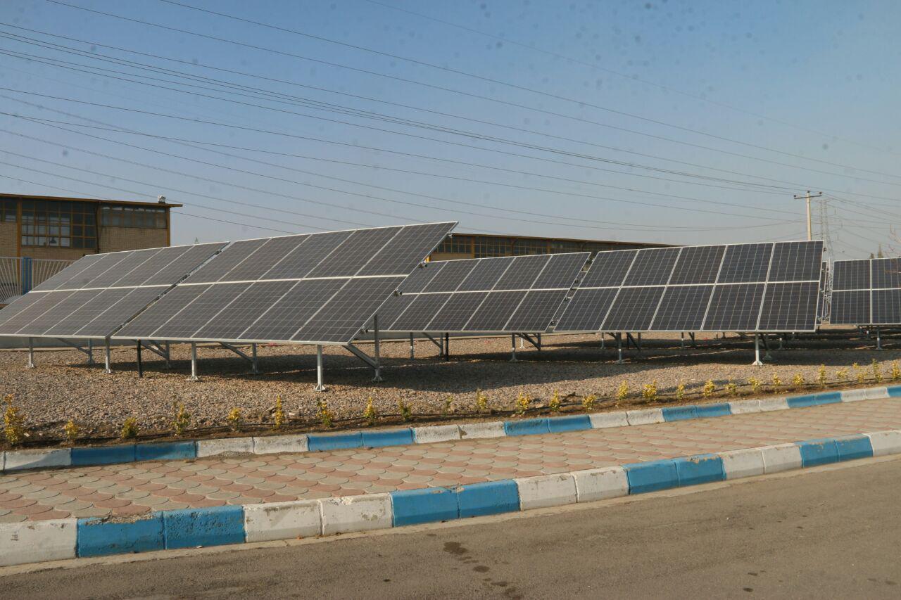 نیروگاه خورشیدی