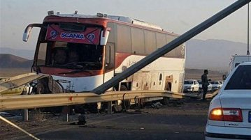 انحراف اتوبوس