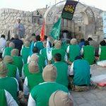 برگزاری دعای ندبه تیپ ۳۷۷ شهید حبرانی ارتش به مناسبت شهادت حضرت زهرا(س)در جبل نور