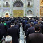 در ایام الله دهه فجر صورت گرفت: گروهی از معلولان استان یزد به حرم مطهر رضوی مشرف شدند