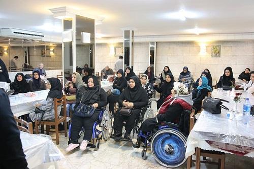 سفر زیارتی بانوان جانباز به مشهد