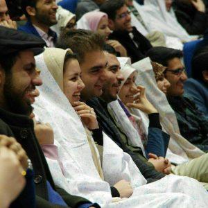 جشن ازدواج دانشجویی دومین کاروان همسفر تا بهشت