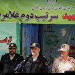سردار اشتری در مشهد: پلیس حامی کالای ایرانی/  نیروی انتظامی امنیت سرمایه گذاری تولید داخلی را فراهم می کند