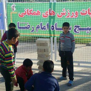 آیین بهره برداری از اولین ایستگاه ورزش صبحگاهی در حاشیه شهر مشهد