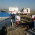صبح پر حادثه برای امدادگران هلال احمر خراسان رضوی با ۱ فوتی و ۳ مصدوم