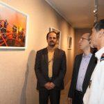"""نمایشگاه عکاسان خبری مشهد با موضوع """"عکس و ایمنی"""" در نگار خانه شهر افتتاح شد"""
