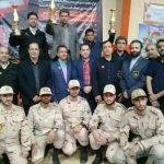 فرماندهی مرزبانی استان خراسان رضوی قهرمان مسابقات کاراته جام پلیس و مردم شد