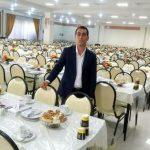 اکبر سیاح مدیر تشریفات آرامش در گفتگو با صبح مشهد مطرح کرد؛ برای برند شدن فقط باید خدمات خوب ارائه داد/ آرزو دارم پرسنل من هیچ روزی بیکار نباشند!