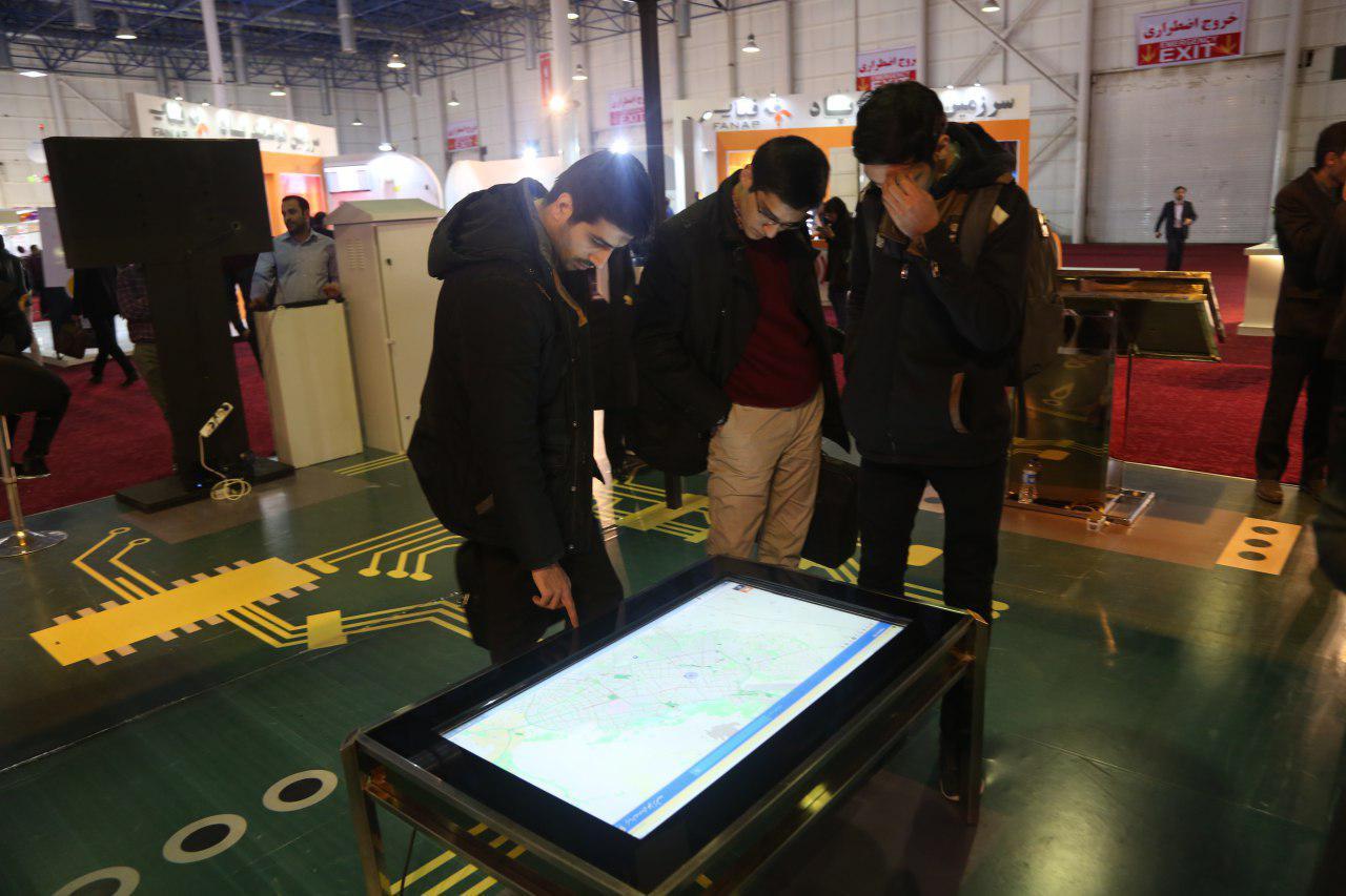 نمایشگاه شهر هوشمند مشهد هوشمندسازی