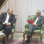 پیگیری تامین منابع مالی طرح نوسازی حرم مطهر در دیدار شهردار مشهد با معاون اقتصادی رئیس جمهور