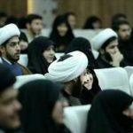 با حضور ۱۳۵ طلبه نو مزدوج؛ اولین همایش «رواق انس» در مجتمع آفتاب ولایت مشهد برگزار شد