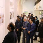 با حضور معاون سفیر اسلواکی؛ نمایشگاه تصویرگری دوسالانه براتیسلاوا در مشهد گشایش یافت