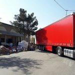 استاندار خبر داد؛ ۳۰ دستگاه تریلر کمکهای امدادی خراسان رضوی را به گلستان منتقل کردند