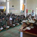 محفل انس با قرآن کریم با حضور کاروان قرآنی نیروی زمینی ارتش در مشهد مقدس برگزار شد