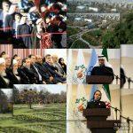گزارش تصویری آیین افتتاحیه مجموعه گردشگری تفریحی و باغ گیاهشناسی راه ابریشم مشهد مقدس